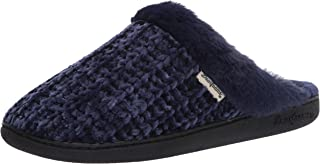Women's Chenille Knit Scuff with Wide Widths Slipper