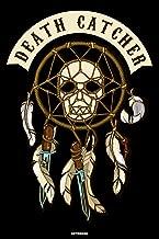 Death Catcher Notebook: Voodoo Journal Black Magic Composition Book Occult Spellbook Birthday gift