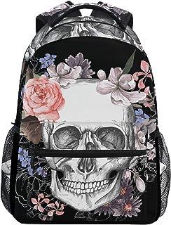 حقيبة ظهر Wamika رخامية للبنات والأطفال والمراهقين حقائب الكتب المدرسية