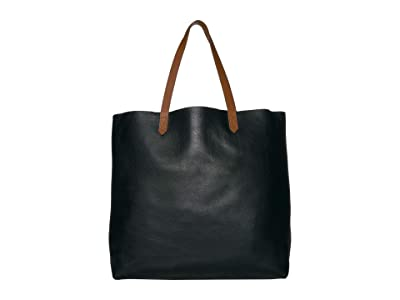 Madewell The Transport Tote (True Black) Handbags