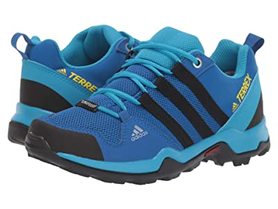 adidas Outdoor Kids Terrex AX2R CP (Little Kid/Big Kid) (Blue Beauty/Black/Shock Yellow) Boys Shoes