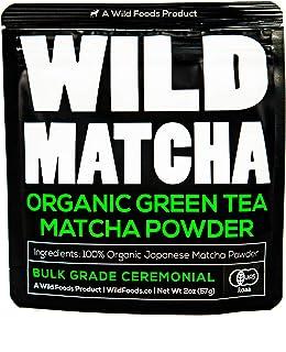 Organic Matcha Green Tea Powder, Ceremonial Grade Authentic Artisan Japanese Matcha Powder, JAS Certified Organic, Shade Grown, Stone Ground, Small Batch (2 Ounce - 56g)