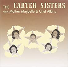 With Mother Maybelle and Chet Atkins