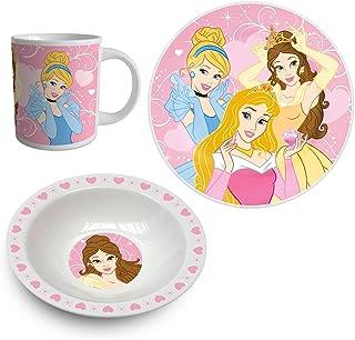 Disney Winnie lourson 12981/Lot de 3/Pi/èces Petit-d/éjeuner Porcelaine Multicolore 19/x 9/x 19/cm