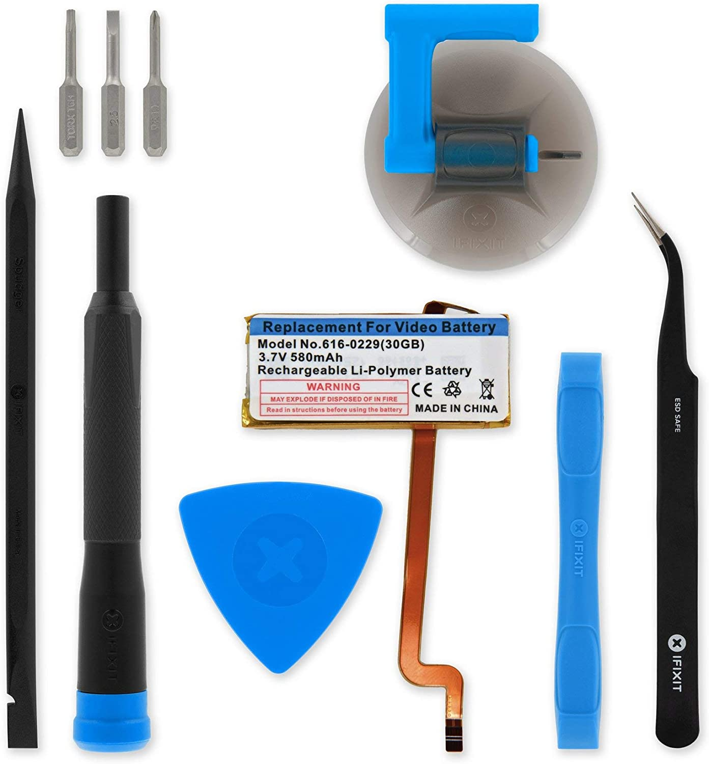 iFixit Battery Compatible with iPod Video Bombing free shipping GB 30 Kit - Fix Branded goods