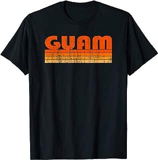 Vintage Grunge Style Guam T-Shirt