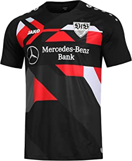 JAKO VfB Stuttgart Warm Up Shirt VfB 1893 Training Jersey svart fan trikot