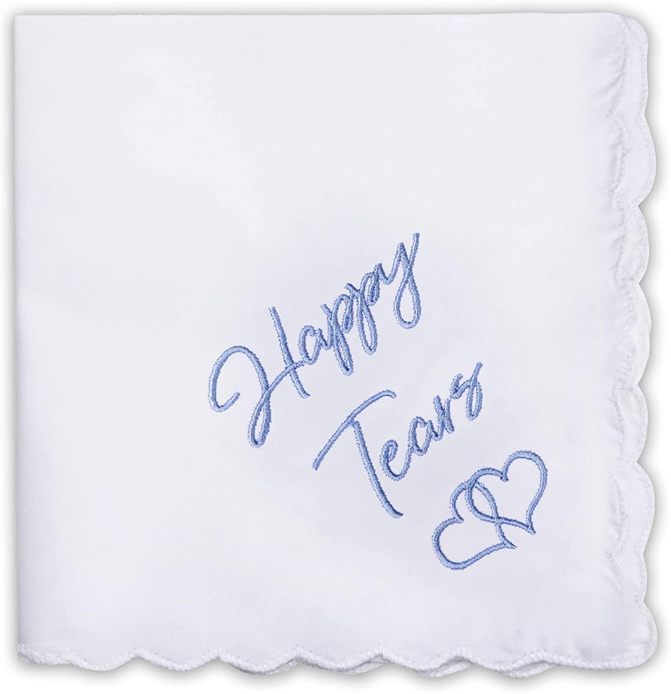 Wedding Handkerchiefs | Embroidered Handkerchiefs | Fun Wedding Gift