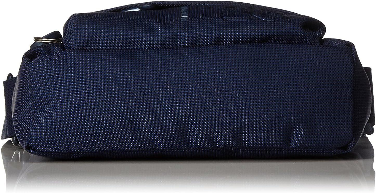 Mandarina Duck Md20 Tracolla, Sacs portés épaule Bleu (Dress Blue)