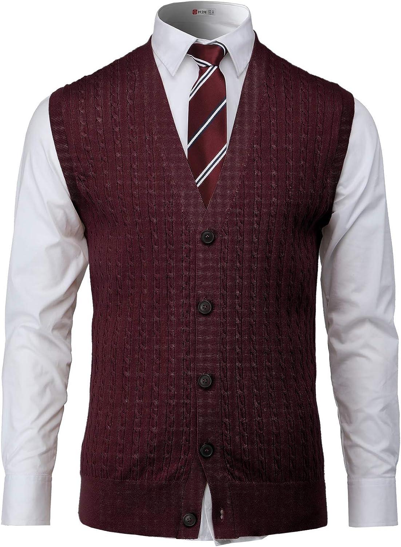 Men's Vintage Vests, Sweater Vests H2H Mens Slim Fit Sweater Vest V Neck Sleeveless Sweater Pullover Sweaters Cable Knitted with Ribbing Edge  AT vintagedancer.com
