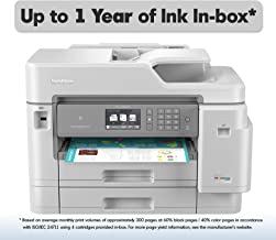 Brother Inkjet Printer, MFC-J5945DW, INKvestmentTank Color Inkjet All-in-One Printer with Wireless, Duplex Printing, NFC and Up to 1-Year of Ink in-Box, Amazon Dash Replenishment Enabled