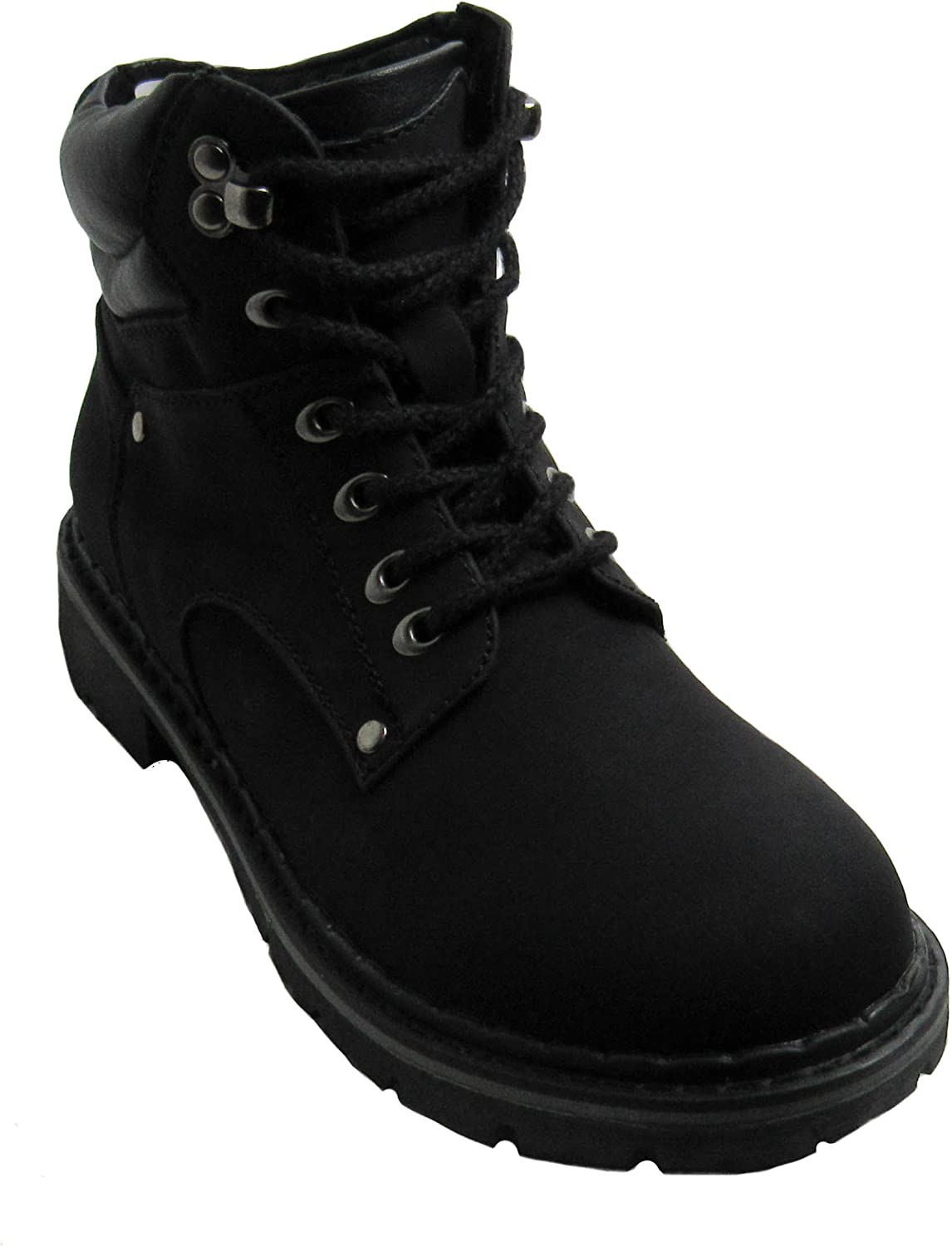Forever Womens Broadway-5 Black Boots 5 D(M) US