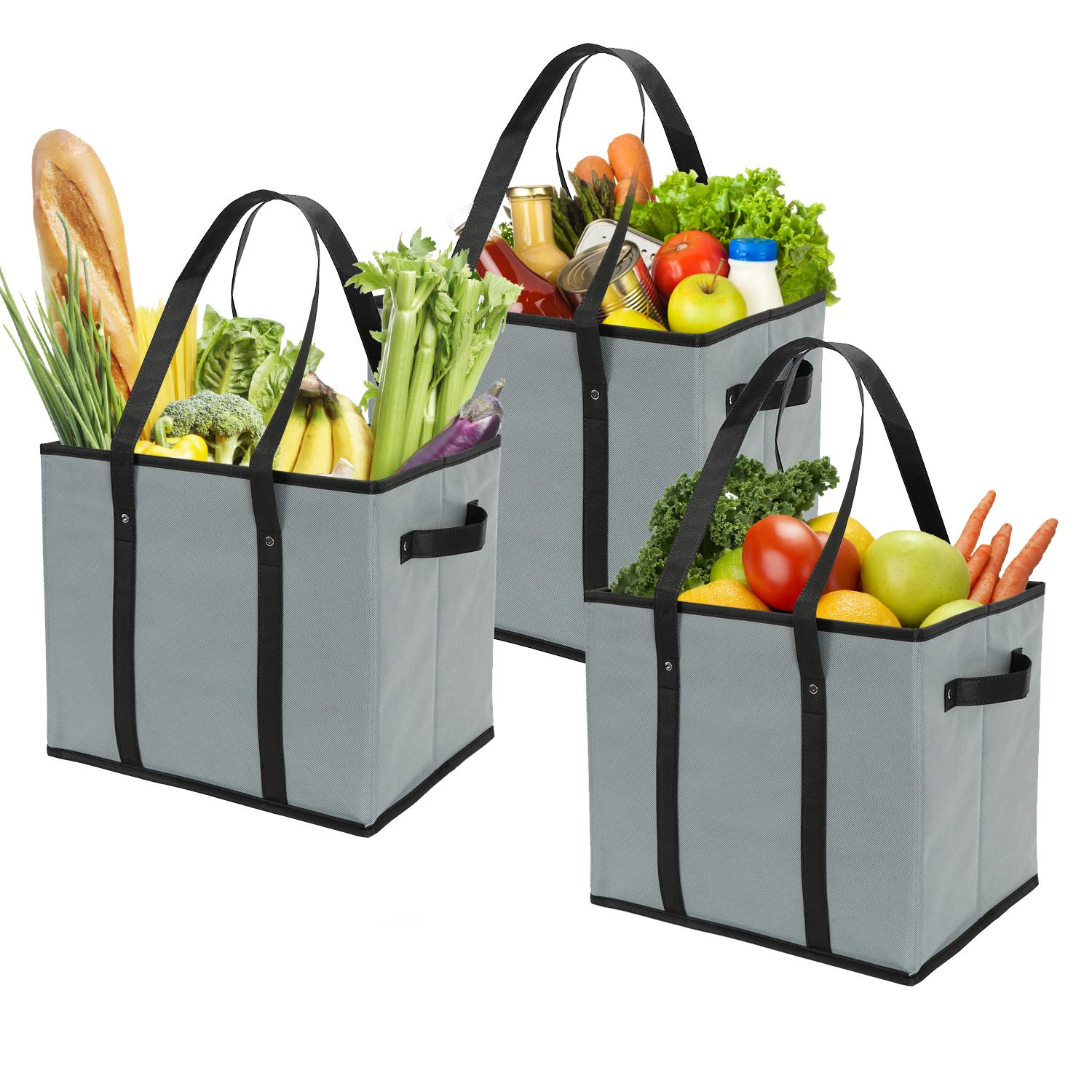 Foraineam Reusable Collapsible Shopping Reinforced