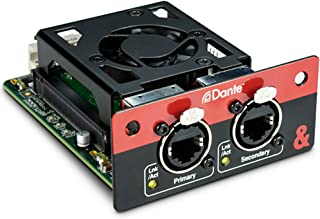 Allen & Heath M-SQ-SDANTE-A SQ Dante 64x64 Module Card for SQ Series Mixers, 96kHz or 48kHz Operation, Two Ports with Redundant and Switch Modes, Dante Domain Manager Ready, AES67 Compatible