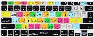 Adobe Photoshop Shortcuts Keyboard Skin Hot Keys PS Keyboard Cover for Macbook Air 13 & Macbook Pro 13 15 17, Retina (US / European ISO Keyboard)