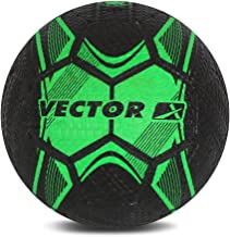 Vector X Men STREETSOCCER_RB_GREEN_5 Football - Green-Black, 5