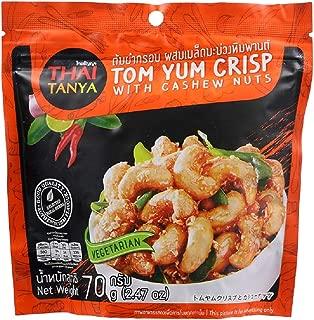 THAI TANYA BRAND, TOM YUM CRISP With Cashew Nuts 70g(2.47oz) X 2 Packs