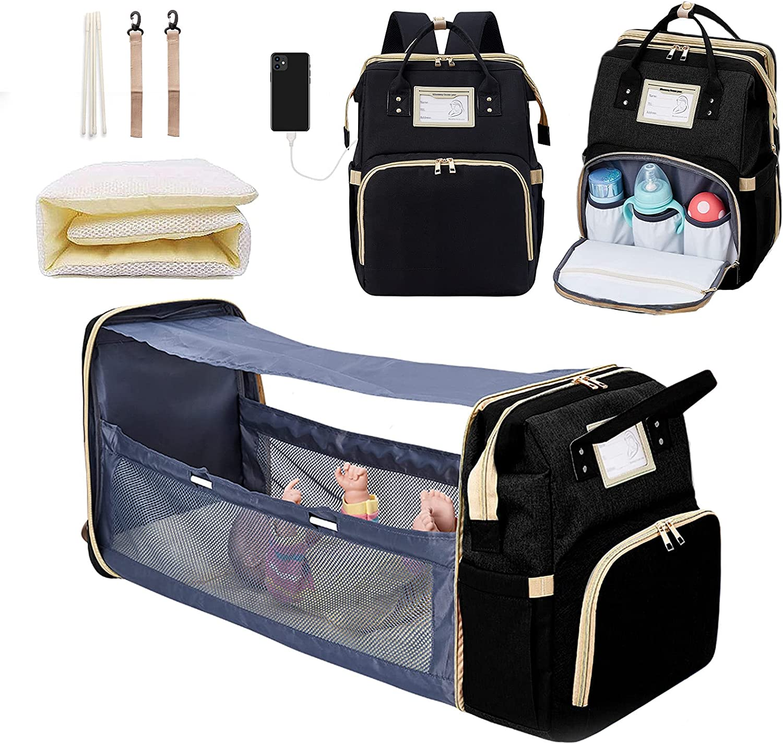 Diaper Bag Backpack Multi-Function Baby Bag Backpack Nappy Bag Baby Shower Gifts