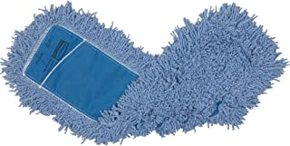 Rubbermaid Commercial Twisted Loop Cotton Dust Mop, 24-Inch Length x 5-Inch Width, White (FGK75300WH00)