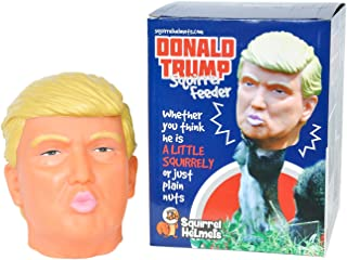 Donald Trump Squirrel Feeder, Keep Squirrels Away from The Bird Feeder and Entertaining You Instead