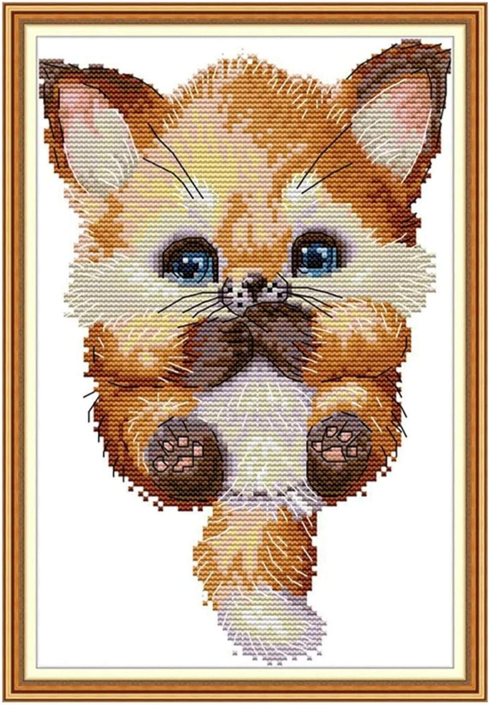 Stamped Cross Stitch Kits Beginners Embroidery for Overseas parallel import regular item Finally resale start Adult Lovely