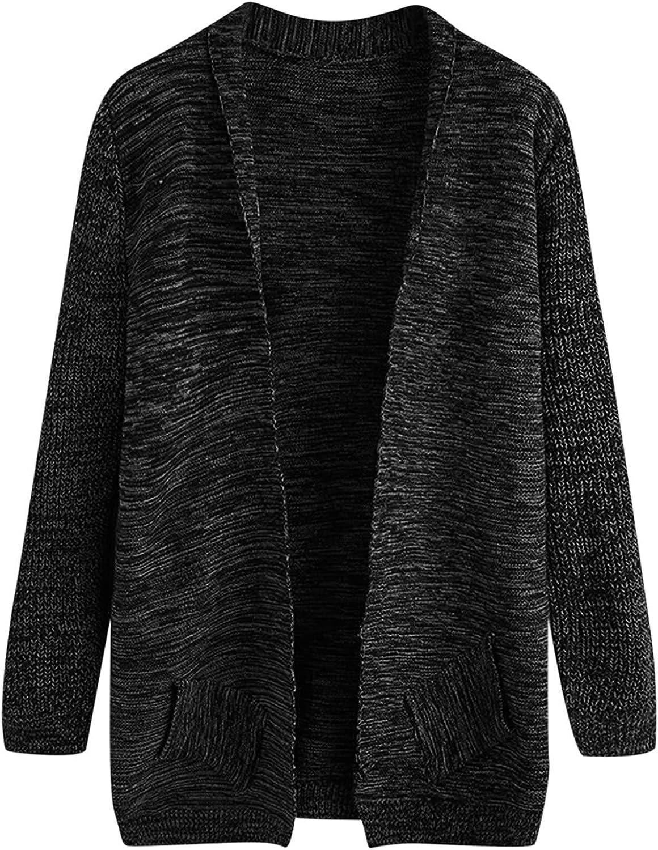 Sinzelimin 2021 Fashion Knitwear for Men's Long Cardigan Sweater Solid Flat Knitted Loose Plus Size Windbreaker Coat Jacket