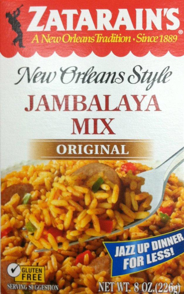 Zatarains Original Jambalaya Mix, 8 Ounces, Pack of 4