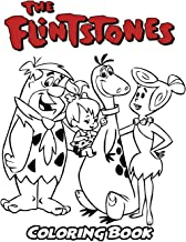 Flintstones Coloring Book: Coloring Book for Kids and Adults, Activity Book with Fun, Easy, and Relaxing Coloring Pages (Perfect for Children Ages 3-5, 6-8, 8-12+)