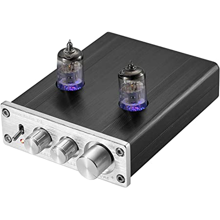 Amazon.com: Nobsound HiFi 6J2 Vacuum Tube Preamplifier Stereo PreAmp Digital Treble&Bass Tone Control (Silver): Home Audio & Theater