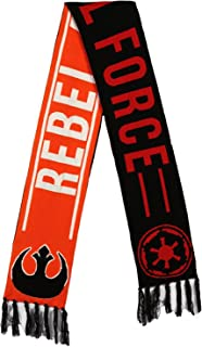 Reversible Rebel Alliance Imperial Force Jacquard Scarf
