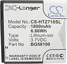KML Battery for HTC 35H00150-00M 35H00150-01M 35H00150-02M,fit Model HTC Mytouch 4G Slide Sensation 4G Sensation XE(1800mAh / 6.66Wh,3.70V,Li-ion)