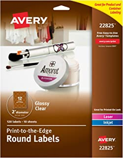 Best avery transparent labels Reviews