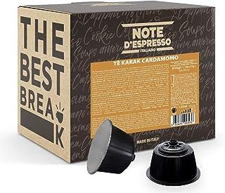 """Note d""""Espresso Kapseln für Nescafe Dolce Gusto Kaffeemaschinen, Karak Chai Kardamom-Tee, 17 g 48-er Pack"""