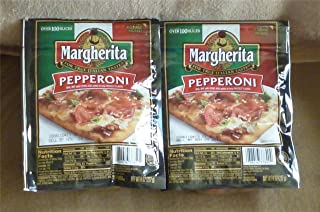 margherita pepperoni slices