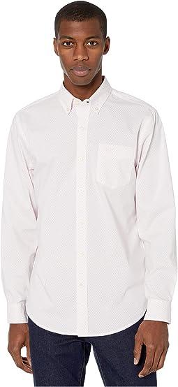 White/Light Pink/Micro Print
