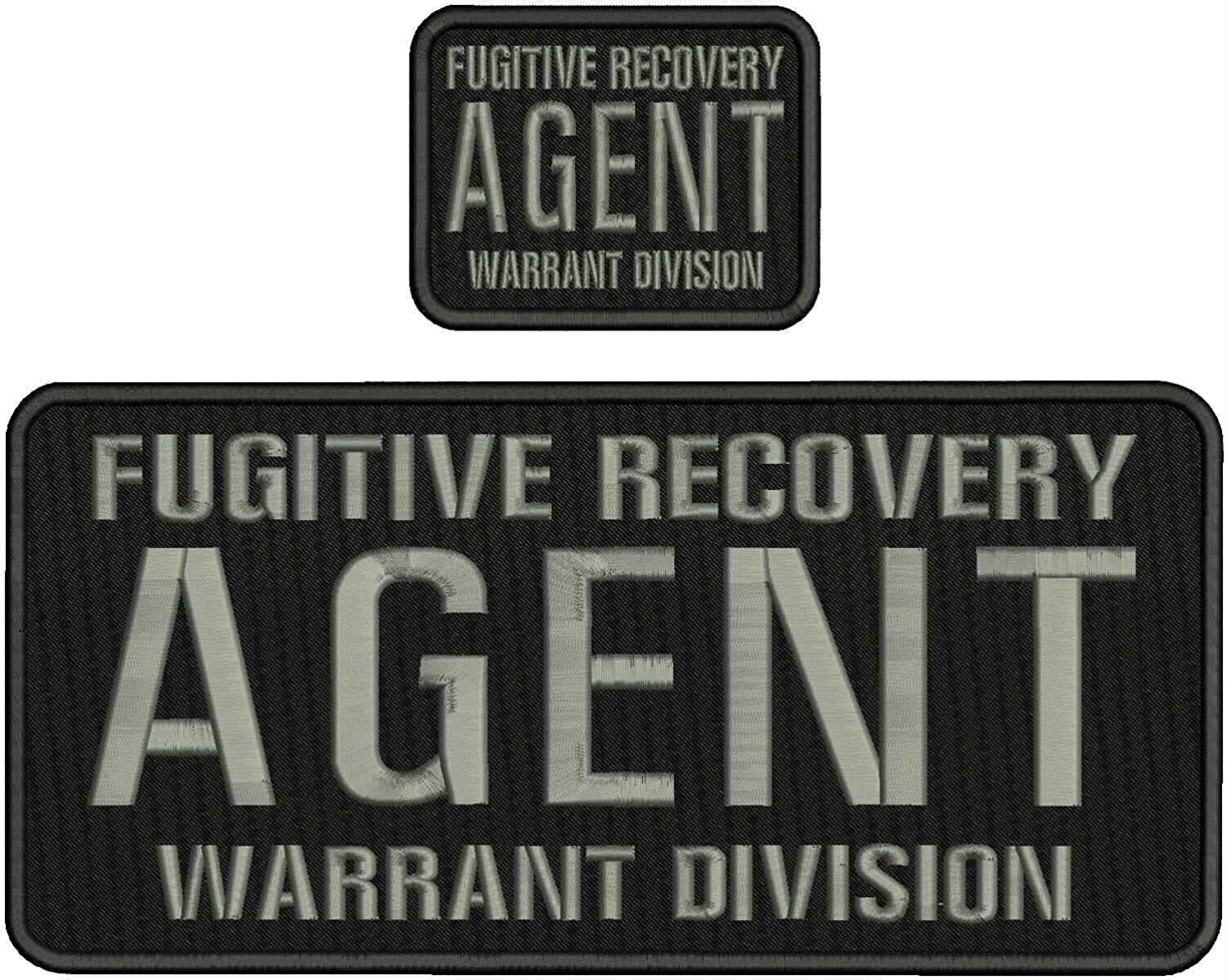 Fugitive Recovery Our shop most popular Agent Warrant Division 3x4 Hoo EMB 5.5x12 PAT OFFicial mail order