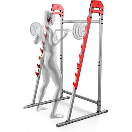 EEUK Hantelbank st/änder Langhantelstander Kniebeuge Squat Rack Hantelst/änder Bankdr/ücken Multifunktional Kniebeugenst/änder f/ür Home Gym Krafttraining Stand Fitness,250 Kg Belastbarkeit