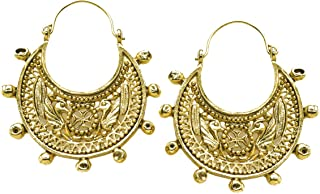 Mother's Day Special -Two-sided Byzantine Crescent Filigree Earrings, From Our Museum Store Reproductions