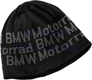 BMW Genuine Motorrad Motorcycle Knitted Cap Black One Size