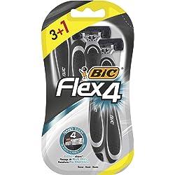 BIC Flex4 Maquinillas de Afeitar Desechables