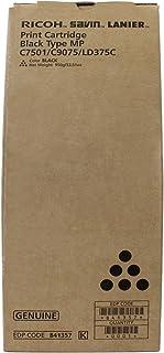 Genuine OEM brand name Ricoh Black Toner for MPC7501/C9075/LD375C 950G 43.2K Yield 841357 by Ricoh
