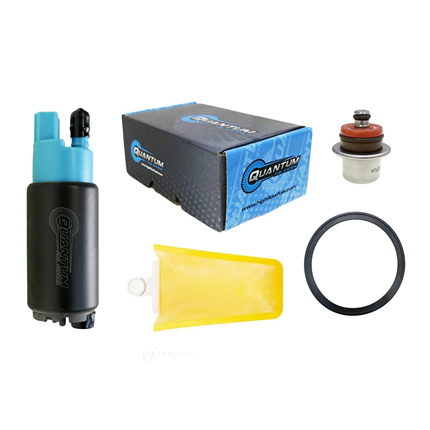 HFP-382-CA Fuel Pump with Strainer, Regulator and Tank Seal Replacement for Can-Am Commander 1000/1000 Max/800/800 Max EFI (2011-2018) Replaces 709000759, 709000362, 709000270