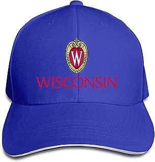 University Of Wisconsin Snapback Sandwich Peak Baseball Cap Hat