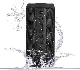 CAMPSLE Bluetoothスピーカー 24W出力 ワイヤレススピーカー IPX7防水規格 風呂/ウトドア用 スピーカー TWS対応 デュアルドライバー 360°ステレオ重低音 内蔵マイク搭載 16時間連続再生 ミニ ポータブル スマホス...