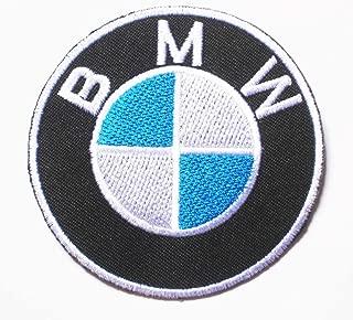1 X BMW Logo MOTOR AUTO sew iron on Patch Badge Embroidery 7.5x7.5 cm 3