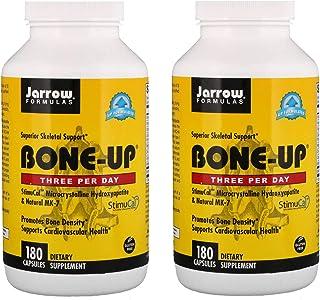 Jarrow Formulas Bone-Up Three Per Day Microcrystalline Hydroxyapatite & Natural MK-7 as a Dietary Supplement (180 Capsules...