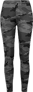 Urban Classics Dam leggings dam camo yoga fitnessbyxor, långa streetwear- & sportbyxor i kamouflagelook i 4 färger, storle...