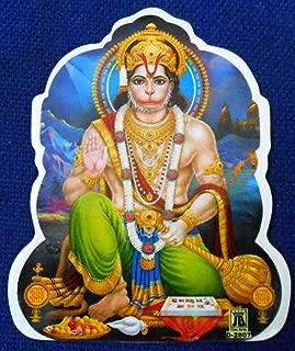 Blessing Lord Hanuman : Hindu God Sticker Size 3.5