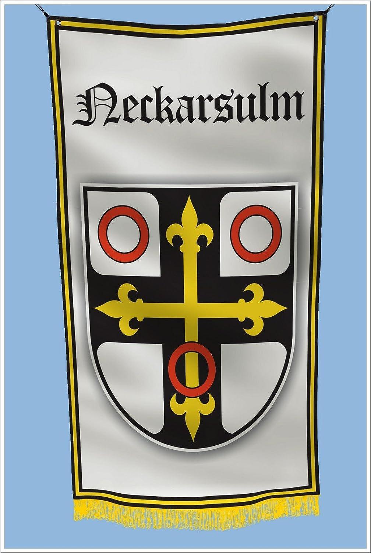 Apedes Neckarsulm Germany Coat of arms Garage Hangar Basement Flag 3x5 Feet