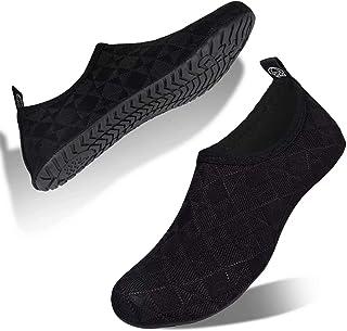 Water-Shoes-Swim-Shoes Quick-Dry Barefoot Aqua-Socks-Beach-Shoes for Pool Yoga Surf for Womens-Mens